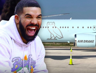 Take A Look Inside Drake's Insane Private Jet, WHICH HE GOT FOR FREE! (VIDEO)