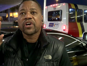 Cuba Gooding Jr. Speaks Out After Alleged Groping, Says He'll Turn Himself In…BUT HE'S INNOCENT!