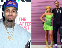 Chris Brown Goes Off On Victor Cruz's Instagram, And Acts Like The Crazy Ex He Is