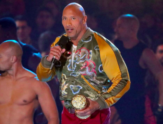Dwayne 'The Rock' Johnson Receives Generation Award At 2019 MTV Movie & TV Awards, Gives The Young People Some Advice (VIDEO)