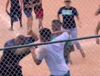 LOL: Insane Parents Get Into Ridiculous Brawl At A Little League Baseball Game (VIDEO)