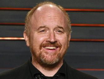 Louis C.K. Makes Surprise Appearance At Comedy Festival And The Audience Gave Him A Legendary Welcoming (VIDEO)