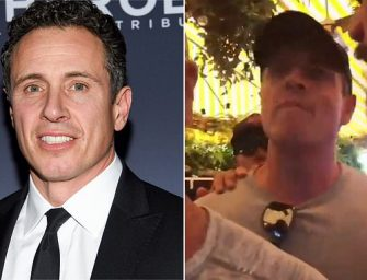 "Watch Chris Cuomo About to Lay Hands on Guy who Calls him ""Fredo"". Says, ""I'll f—ing ruin your s—, I'll f—in throw you down these stairs like a f—in' punk."""