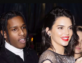 A Somewhat Free A$AP Rocky Spends Second Day Back In The States With Ex-Girlfriend Kendall Jenner