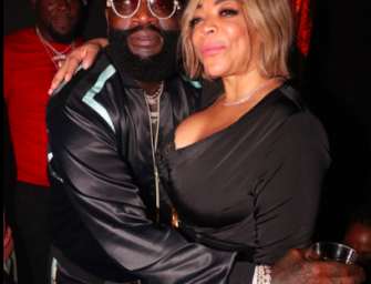 Wendy Williams Is Loving Life, Parties With Meek Mill And Rick Ross Late Into The Night! (PHOTO)