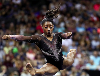 Simone Biles Makes History Multiple Times During Legendary National Title Win (VIDEO)
