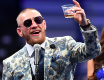 Conor McGregor Is A Douche, Punches Old Man In The Head Because He Refused To Take A Shot (VIDEO)