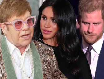 Ellen DeGeneres And Elton John Defend Meghan Markle And Prince Harry's Private Jet Use Amid Backlash