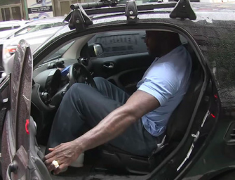 LOL! Hilarious Video Shows Shaq Driving A Tiny A** Smart Car Around New York City