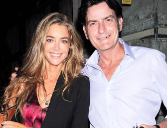 Denise Richards Claims Charlie Sheen Owes Her $450,000 In Child Support