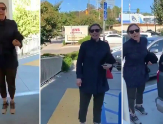 Hollywood Costume Designer Goes On Insane Racist Rant Outside A CVS In Los Angeles, And Some Celebs Are Shocked (VIDEO)