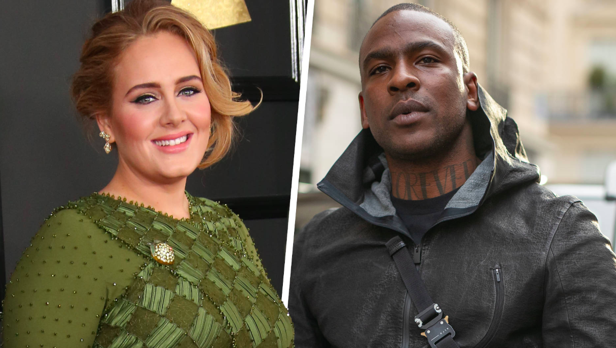 Adele And Rapper Skepta Representing The Swirl? Sources