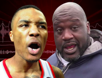 Shaq And Damian Lillard Are In The Middle Of Epic Rap Battle, Who Is Winning? (AUDIO)