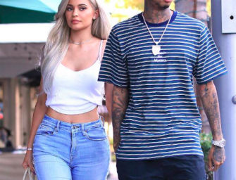 Ah, Damn…Kylie Jenner Hangs Out With Ex-Boyfriend Tyga Following Travis Scott Split