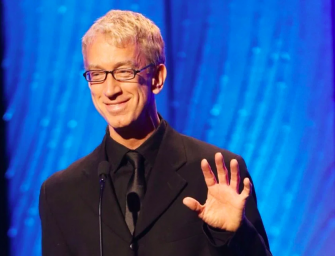 Andy Dick Is A Mess, Gets Body Slammed By Uber Eats Driver After Trying To Steal Some Tacos #NationalTacoDay (VIDEO)