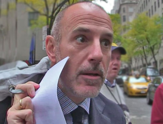 Matt Lauer Claims Rape Allegations Are False, Says The Women Are Too Afraid To Admit They Cheated…WHAT?