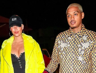 Amber Rose Gives Birth To Second Child, Her First With Boyfriend Alexander Edwards (PHOTO)