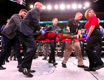 Horrific Video Shows The Knockout That Ultimately Ended Boxer Patrick Day's Life At Just 27-Years-Old