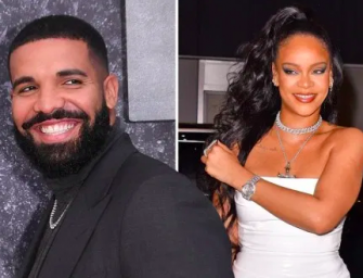 Rihanna Makes A Surprise Appearance At Drake's Birthday Party