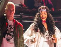 "Eminem ""Backs"" Chris Brown For Beating Rihanna In Leaked Verse From Old Track"