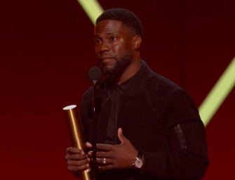 Kevin Hart Makes First Public Appearance Since Car Crash During 2019 People's Choice Awards (VIDEO)