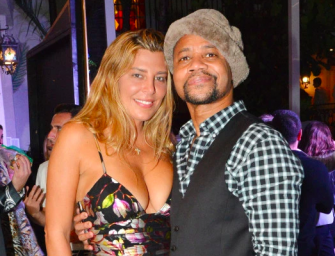 Cuba Gooding Jr.'s Life Is A Complete Mess, Girlfriend Flips Out On Him In Bar, Has To Be Removed By Security (VIDEO)
