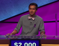 Alex Trebek Gets Emotional During Episode Of 'Jeopardy!' After Contestant Writes Special Message