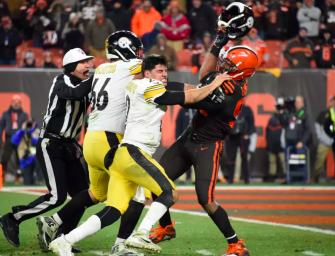 NFL Players React To Insane Brawl Between Myles Garrett And Steelers Quarterback Mason Rudolph (VIDEO)