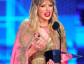 Taylor Swift Becomes Winningest Artist In AMAs History With 29 Awards, Gives Speech That Makes Her Mom Cry