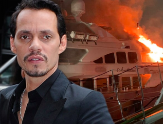 Oh No? Marc Anthony's $7 Million Yacht Catches Fire, Takes Two Hours To Put out