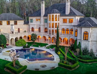 Cardi B And Offset Join Together To Buy Insane Atlanta Mansion For Christmas, Check Out The Photos Inside!