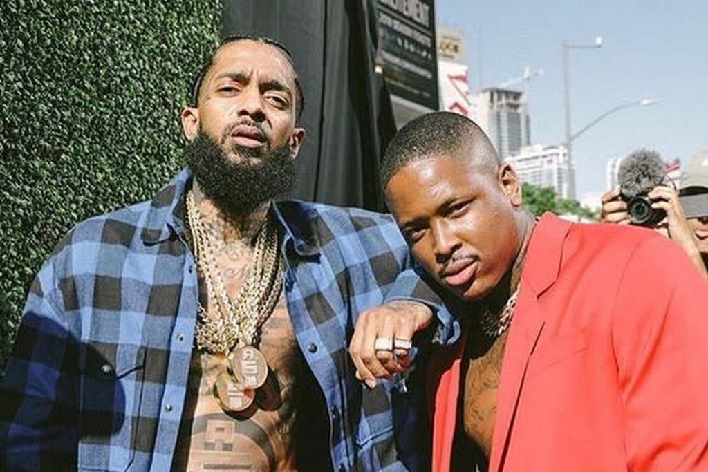 Rapper YG Arrested Just Days Before Performing Tribute for Nipsey at the Grammys.  Coincidence?