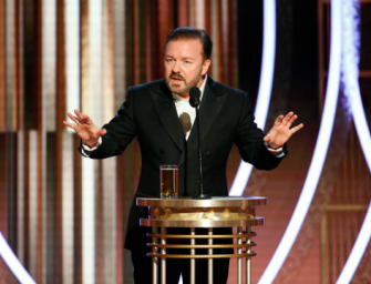 Ricky Gervais Turns Golden Globes Monologue Into Brutal Roast Of Hollywood Elite