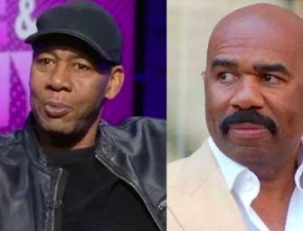 Mark Curry Calls Out Steve Harvey Again For Allegedly Stealing His Material!