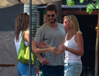 Liam Hemsworth Has Moved On From Miley Cyrus, Spotted Kissing New Girlfriend On The Beach