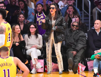 Did Kim Kardashian Boo Tristan Thompson During Game Against The Lakers?