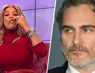 Wendy Williams Apologizes After Getting Blasted For Making Fun Of Joaquin Phoenix's Cleft Lip Scar