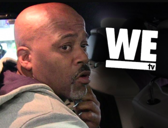 Damon Dash Is Trying To Get Money Any Way He Can, Sues We TV For Giving His Son Alcohol