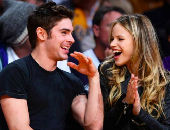 "Zac Efron Is Over Sarah Bro, Is Now In A ""Serious"" Relationship With Halston Sage"