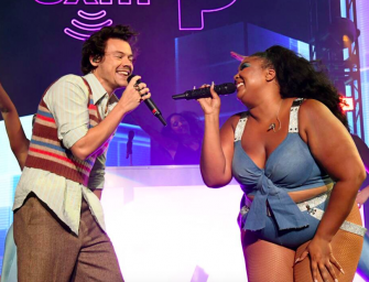 Feel Good Clip Of The Day: Watch Lizzo And Surprise Guest Harry Styles Perform 'Juice' To Kickoff Super Bowl Concert Series