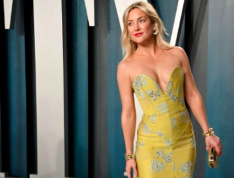 Usher Gets Caught Checking Out Kate Hudson At Vanity Fair Oscar Party