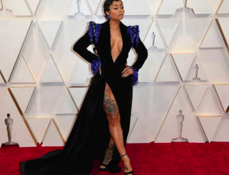 Why The Hell Was Blac Chyna Walking Down The Red Carpet At The Oscars?