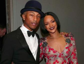 Rihanna Is Finally Making Music Again, Posts Photo Inside Studio With Pharrell