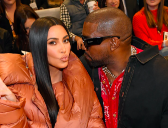 "The Most Awkward ""Kiss Cam"" Moment Ever, Featuring Kim Kardashian and Kanye West"
