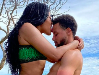 Ayesha Curry Straddles Stephen Curry In A Pretty Steamy Vacation Photo
