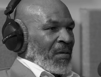 Mike Tyson Tears Up While Talking About Fearing The Monster He Used To Be