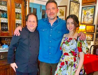 Ben Affleck Living The Good Life, Reportedly In New Relationship With Ana de Armas