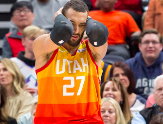 A Second Utah Jazz Player Comes Down With Coronavirus, Thanks To Rudy Gobert's Carelessness