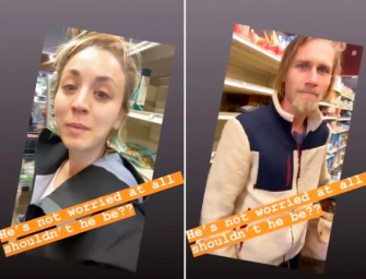 Ah Yes! A Full Three Minutes Of Celebrities Grocery Shopping During Coronavirus Pandemic! (VIDEO)