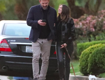 Ben Affleck And Ana De Armas Are Back From Vacation, But Still Stuck Together Like Glue